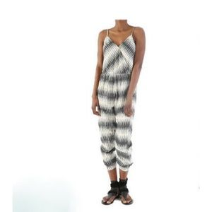 The Odells Woven Ikat Lined Jumpsuit XS